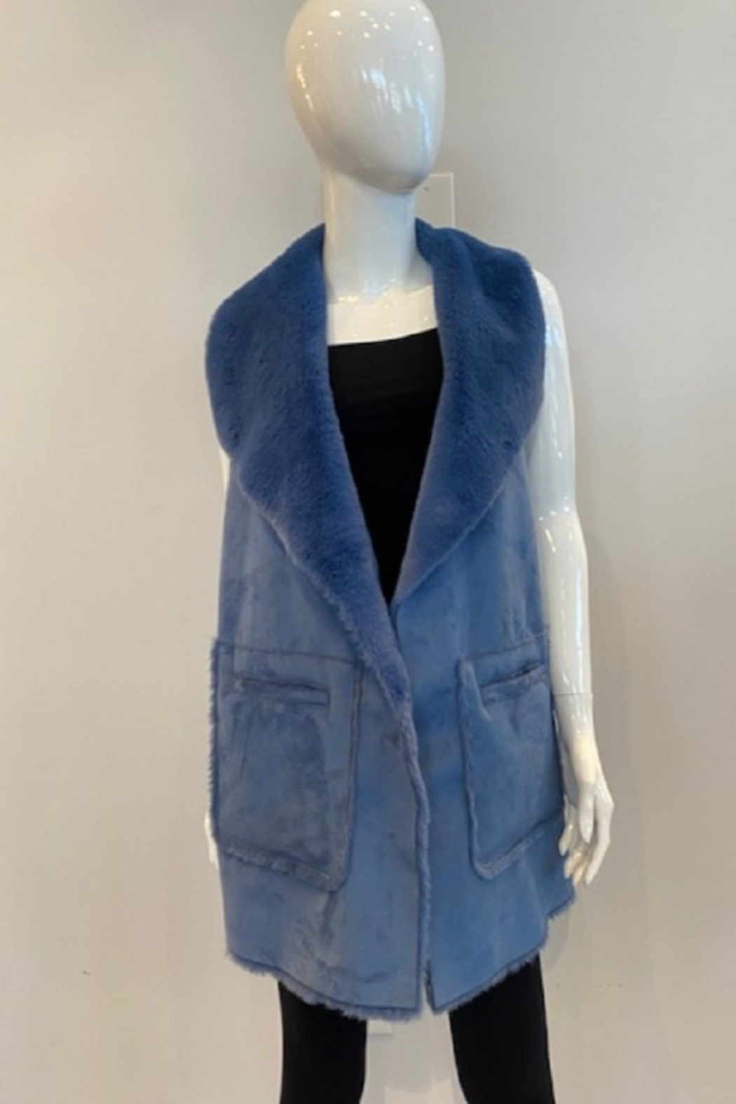 Katherine Barclay Long Vest - Main Image