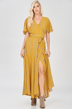 Shoptiques Product: Long Yellow Dress