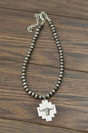 JChronicles Longhorn Navajo-Pearl Necklace - Product Mini Image