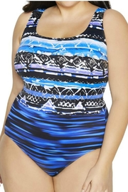 Longitude Swimwear X-Back Tank Swimsuit - Product Mini Image