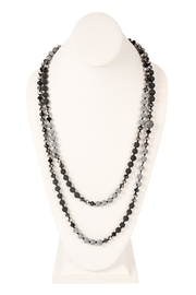 Riah Fashion Longline-Lava Crystal-Necklace - Product Mini Image