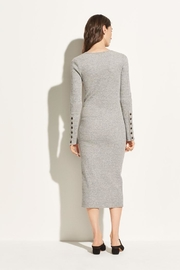 Vince Longsleeve Rib Dress - Back cropped