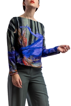 Shoptiques Product: Longsleeve Shirt Printed