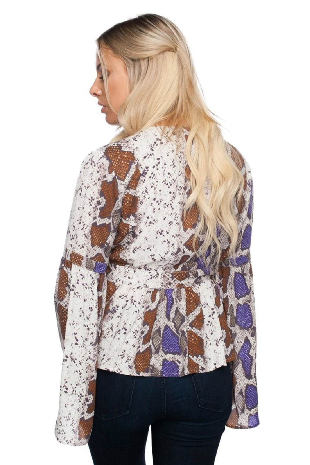 Buddy Love Loni Royal Top - Front Full Image