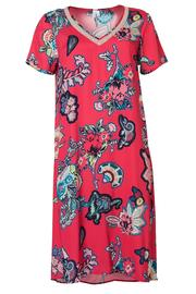 Loobies Story Silk Printed Dress - Product Mini Image