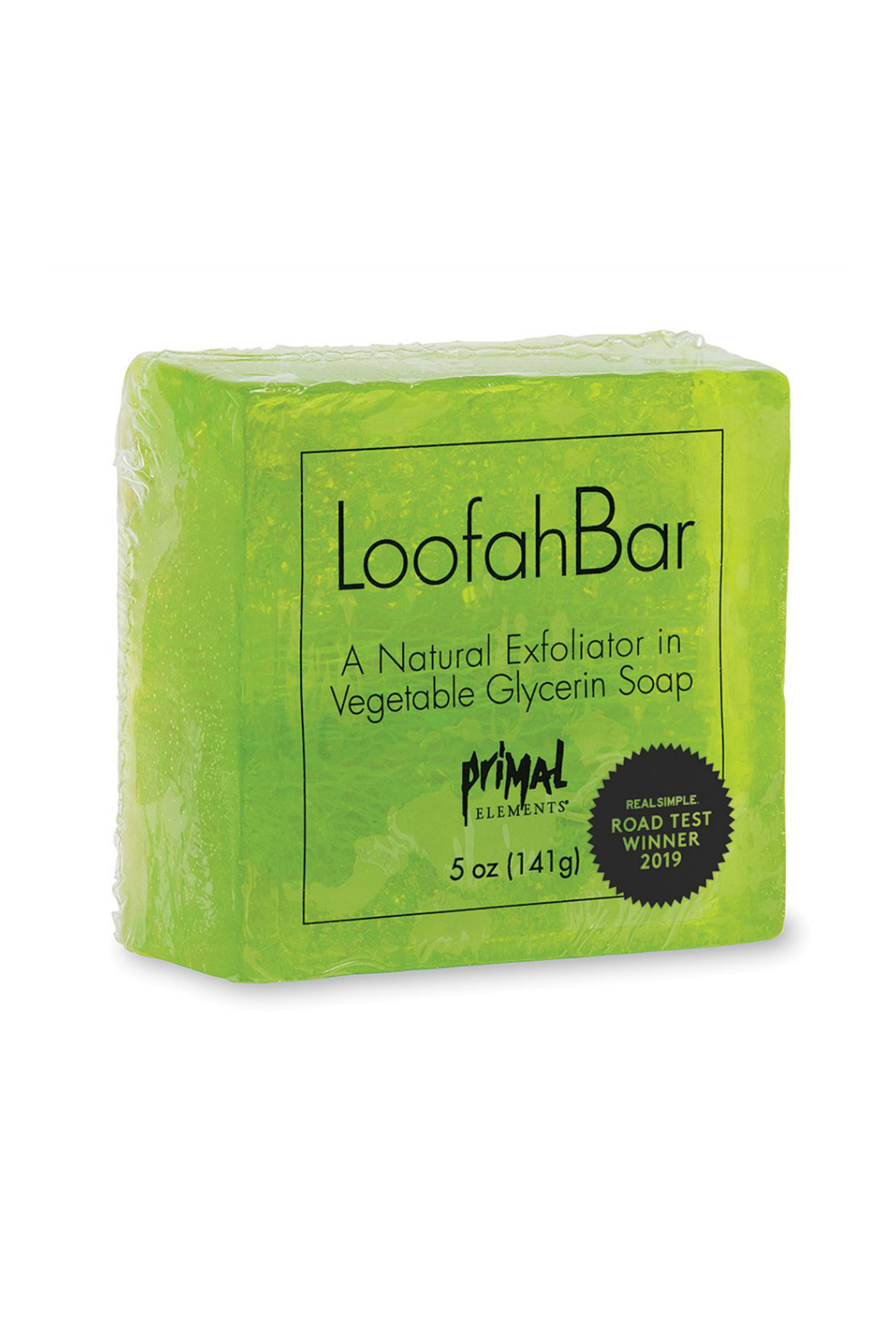 Primal Elements LOOFAH BAR SOAP JUICY KIWI - Front Cropped Image