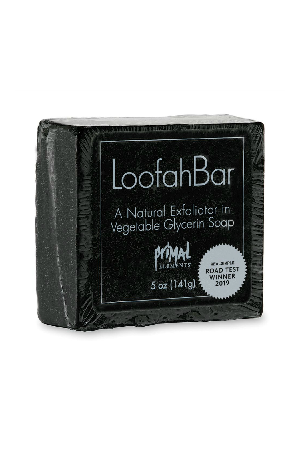 Primal Elements LOOFAH BAR SOAP SMOKEY VETIVER - Main Image