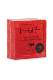Primal Elements LOOFAH BAR SOAP WATERMELON - Front cropped