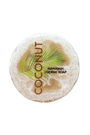 Maui Soap Company Loofah Soap: Coconut - Product Mini Image
