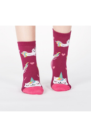 Sock it to me Look At Me Meow Crew Socks - Product Mini Image