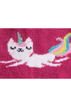 Sock it to me Look At Me Meow Toddler Crew Socks - Alternate List Image