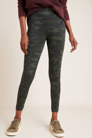 Spanx Look At Me Now Seamless Camo Leggings - Front full body