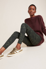 Spanx Look At Me Now Seamless Camo Leggings - Front cropped