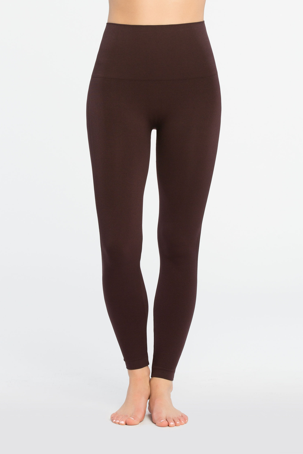 Spanx Look At Me Now Seamless Leggings - Front Full Image