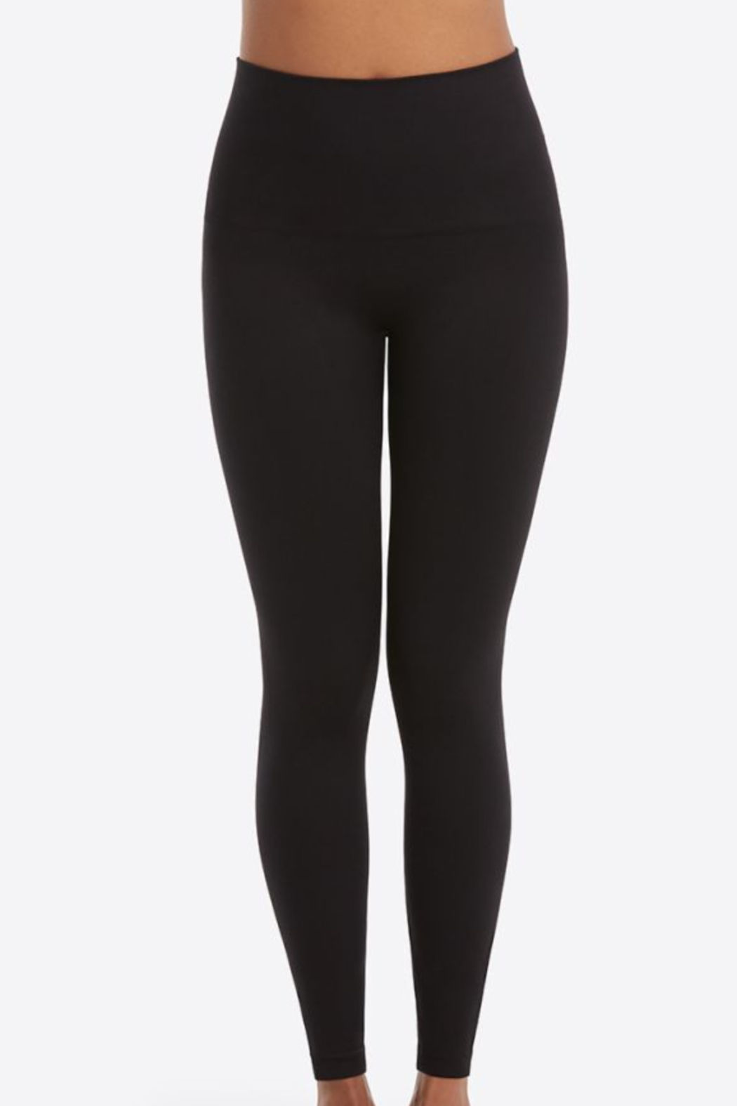Spanx Look At Me Now Seamless Leggings - Front Cropped Image