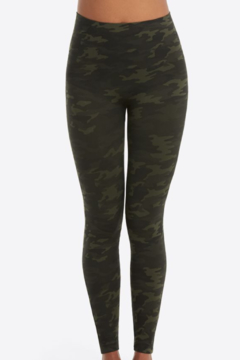 Shoptiques Product: Look At Me Now Seamless Leggings Green camo