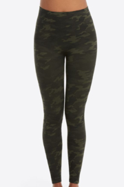 Spanx Look At Me Now Seamless Leggings Green camo - Product Mini Image