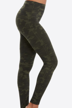 Spanx Look At Me Now Seamless Leggings Green camo - Alternate List Image