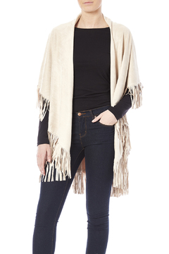 Look by M Faux Suede Fringe Vest - Product List Image