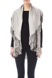 Look by M Faux Suede Shawl - Side cropped