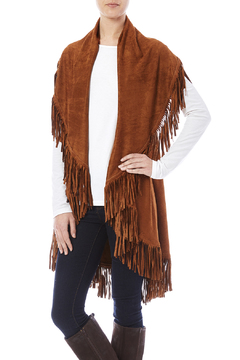 Look by M Faux Suede Shawl - Product List Image