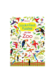 Usborne Look & Find Puzzles At The Zoo - Product Mini Image