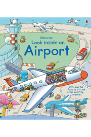 Usborne Look Inside An Airport - Front cropped