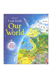 Usborne Look Inside Our World - Front cropped