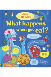 Usborne Look Inside: What Happens When You Eat - Product Mini Image