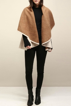 Look by M Two Tone Shawl Vest - Product List Image