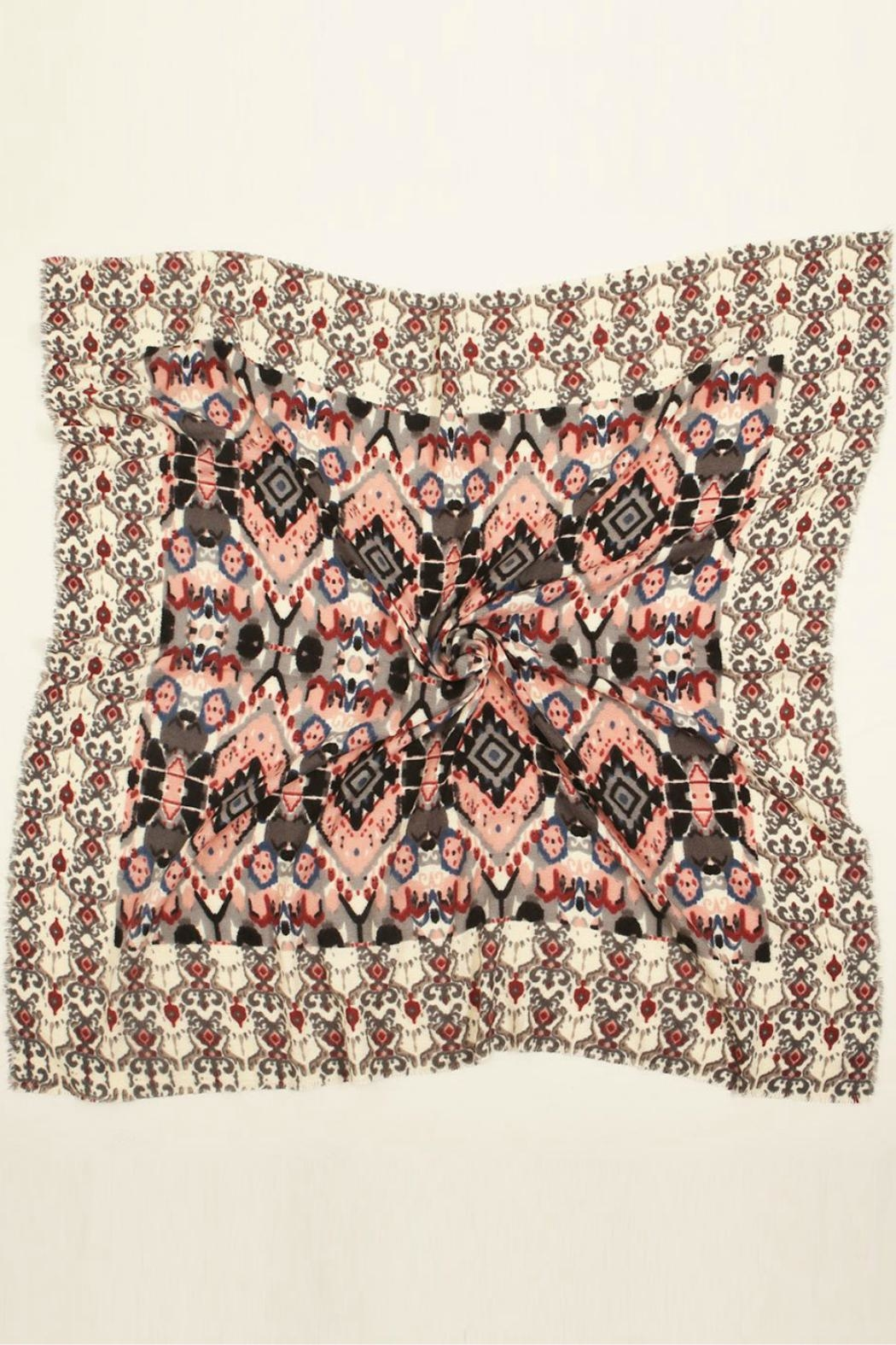 Look by M Baroque Pattern Scarf - Front Full Image