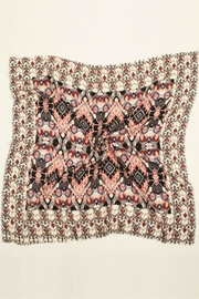 Look by M Baroque Pattern Scarf - Front full body