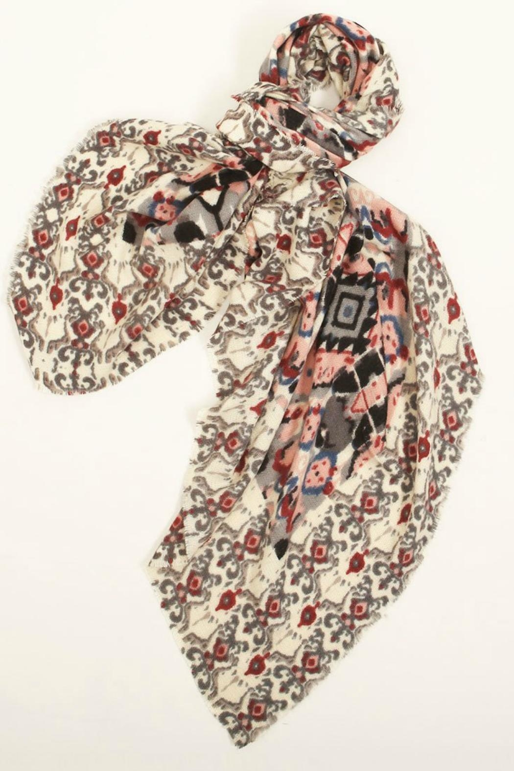 Look by M Baroque Pattern Scarf - Main Image
