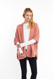 Look by M Basic Cape Poncho - Front cropped