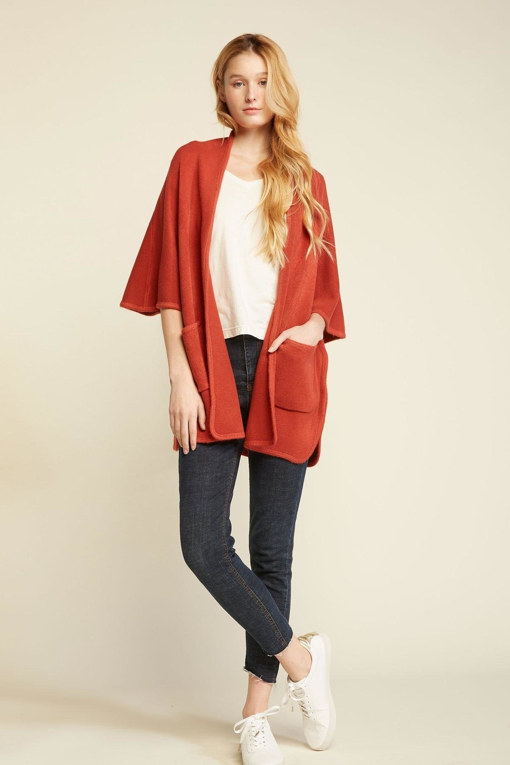 Look by M Basic Cape Poncho - Main Image