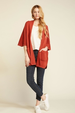 Look by M Basic Cape Poncho - Alternate List Image