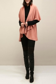 Look by M Basic Coral Shawl Vest - Product Mini Image