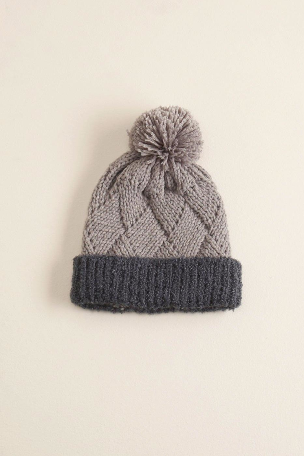 Look by M Chess Pompom Hat - Main Image