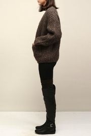 Look by M Cocoon Short Cardigan - Front full body