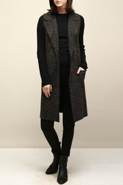 Look by M Collared Knit Vest - Front cropped