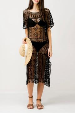 Shoptiques Product: Crochet Tassel Cover-Up