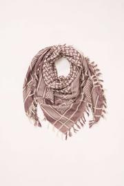 Look by M Fringe Square Scarf - Product Mini Image