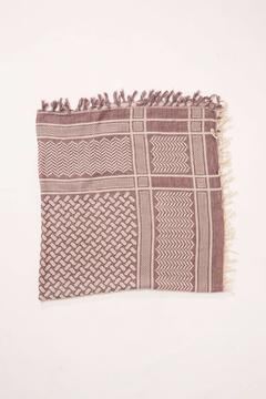 Shoptiques Product: Fringe Square Scarf