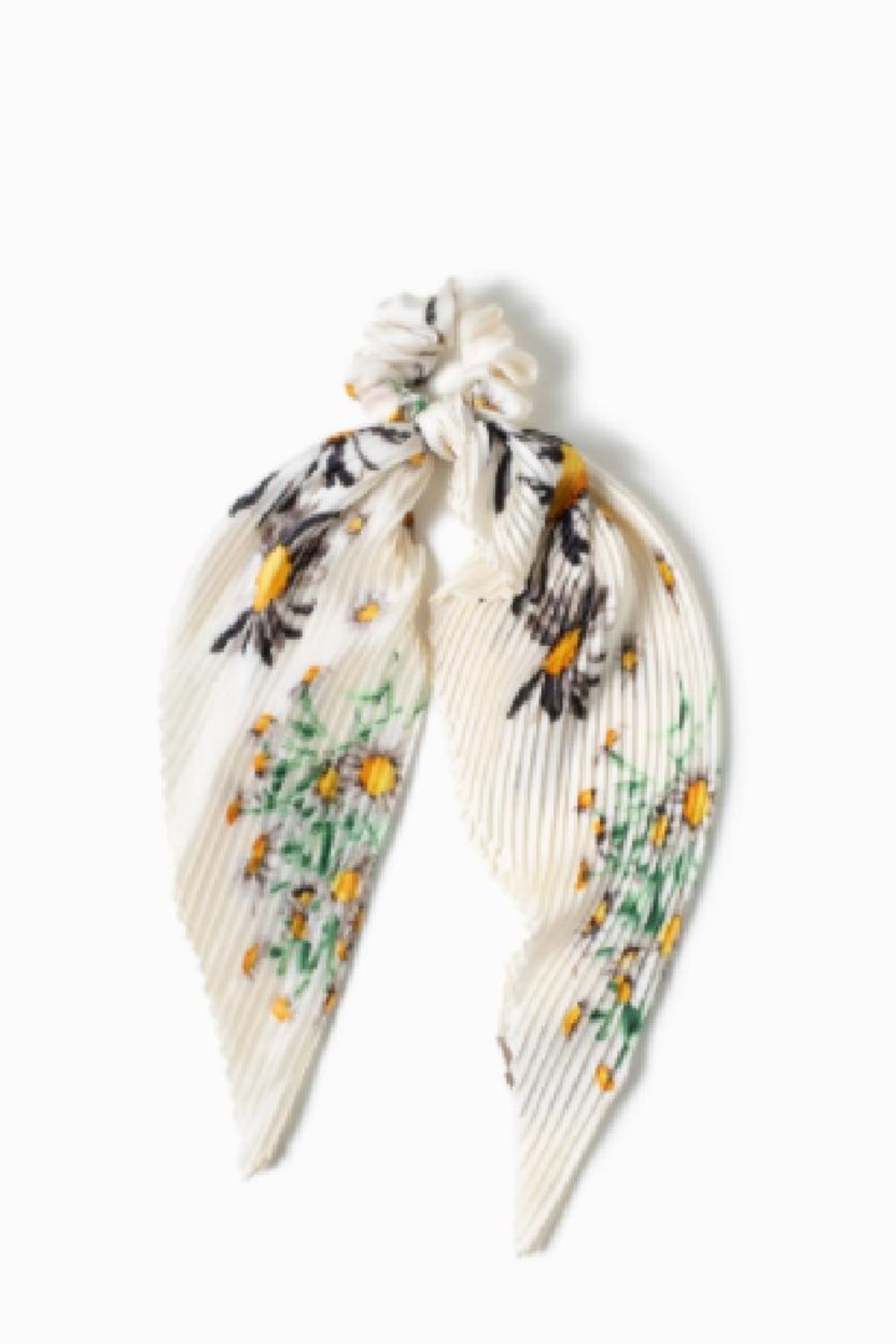 Look by M Hair Tie Scarf - Back Cropped Image