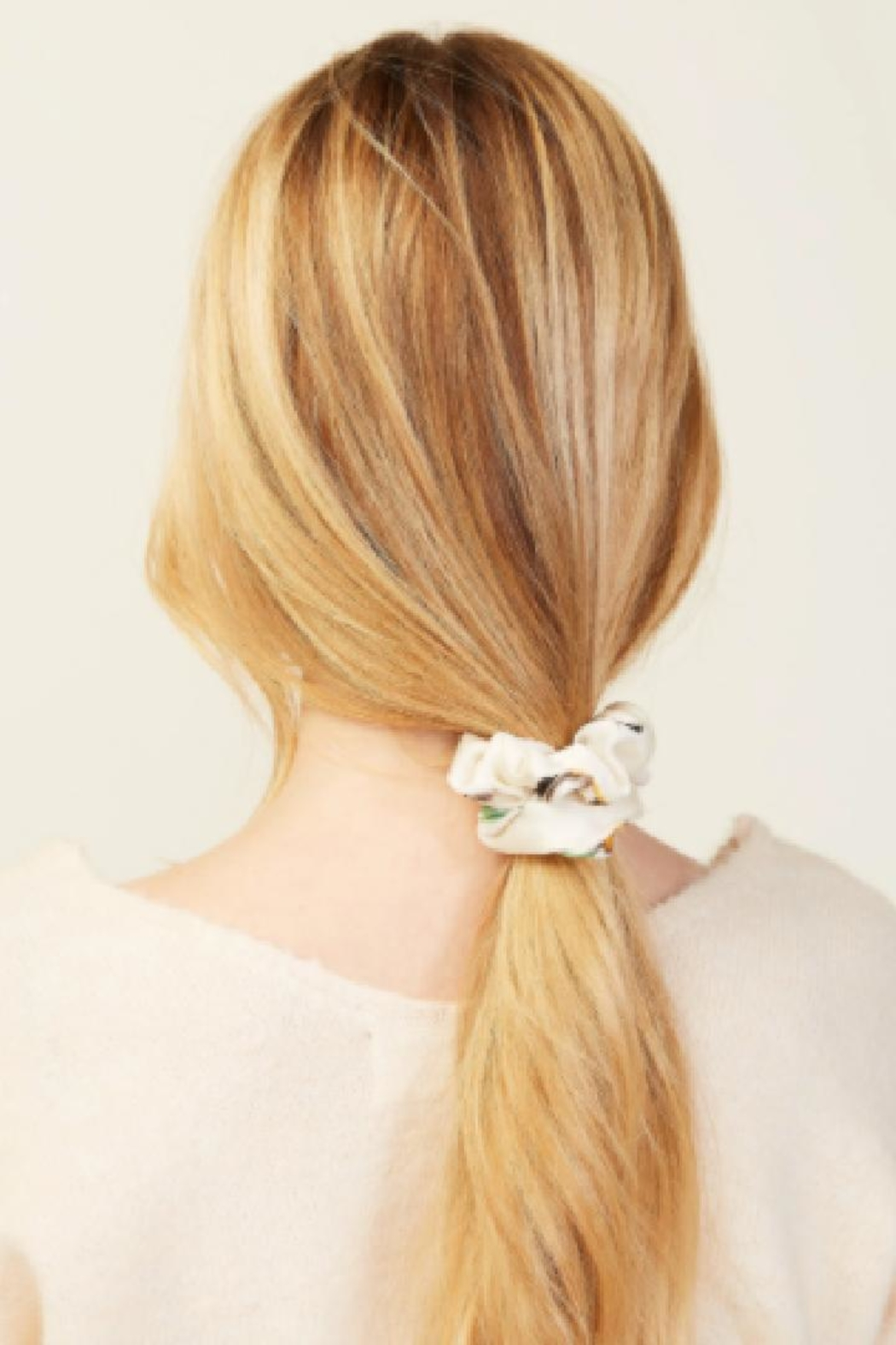 Look by M Hair Tie Scarf - Front Full Image