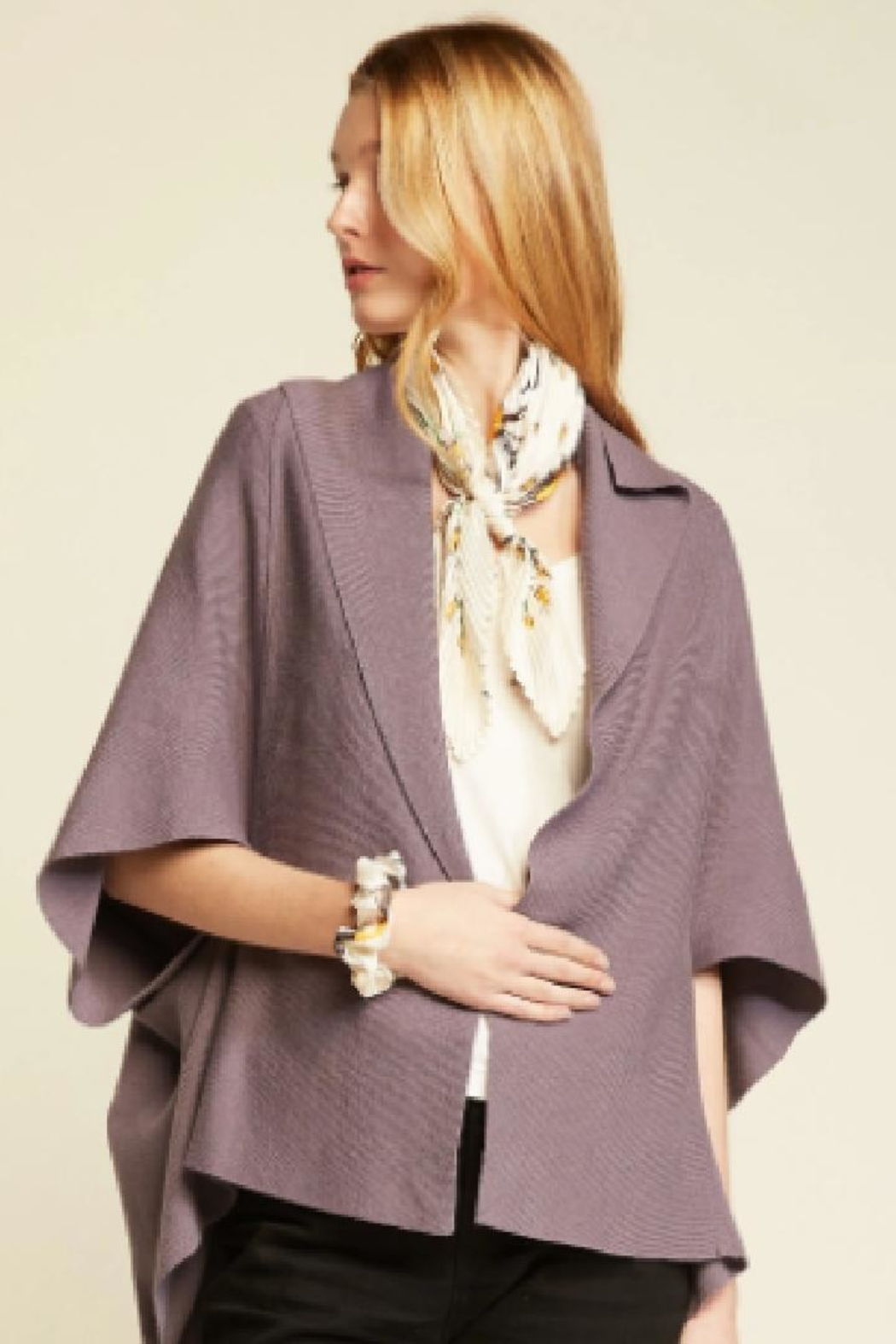 Look by M Hair Tie Scarf - Side Cropped Image