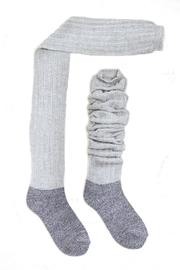 Look by M Heathered Boot Socks - Product Mini Image