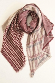 Look by M Houndstooth Checker Scarf - Product Mini Image
