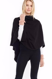 Look by M Merino Wool Poncho - Front cropped