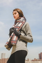 Look by M Plaid Puffer Scarf - Product Mini Image